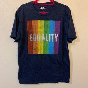 Pride equality tee